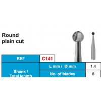 C141- Round Plain Cut